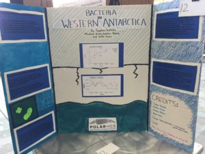 project on bacteria in western antarctica