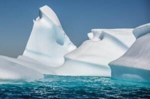 Wave-carved Iceberg, Western Antarctic Peninsula